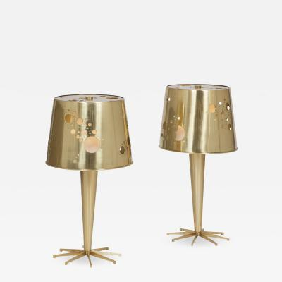 Roberto Giulio Rida Pair of Lattea Lamps