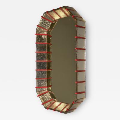Roberto Giulio Rida Pair of Mirrors by Roberto Rida b 1943 Italy 2016