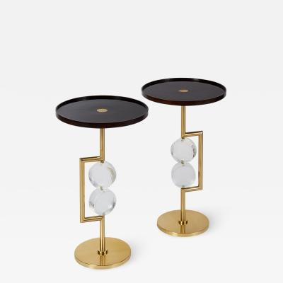 Roberto Giulio Rida Pair of Roberto Rida Side Tables