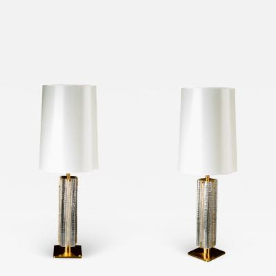 Roberto Giulio Rida Pair of Table Lamps