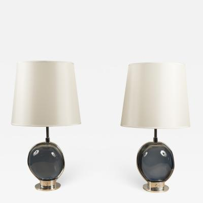 Roberto Giulio Rida Pair of Table Lamps by Roberto Rida Italy 2018
