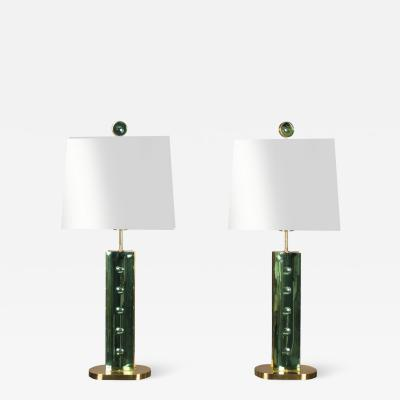 Roberto Giulio Rida Pair of Tegoline Table Lamps by Roberto Rida Italy 2017