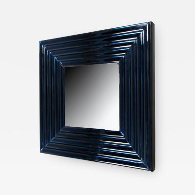 Roberto Giulio Rida Pair of Velluto Mirrors by Roberto Rida b 1943 Italy 2016