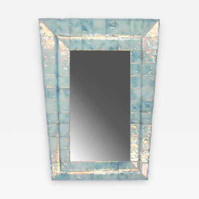 Roberto Giulio Rida Trapezoidal Mirror by Roberto Rida b 1943 Italy 2016