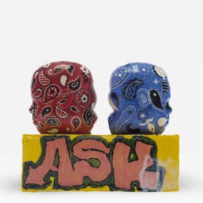 Roberto Lugo Blood and Crip Salt and Pepper Shakers Ash 2017
