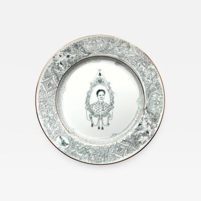 Roberto Lugo Dinner Plate
