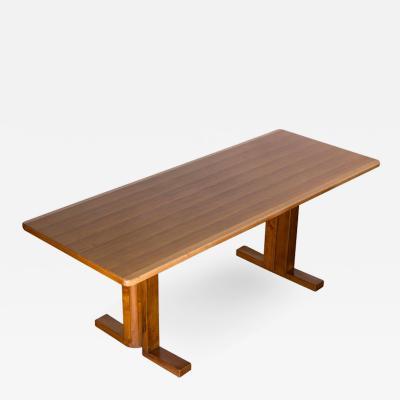 Roberto Pamio Marvellous Rocco Wood Desk by Roberto Pamio for Peguri