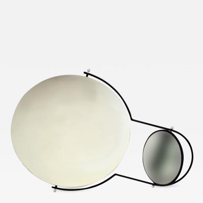 Rodney Kinsman Modernist Wall Mirror by Rodney Kinsman for Bieffeplast 1980s