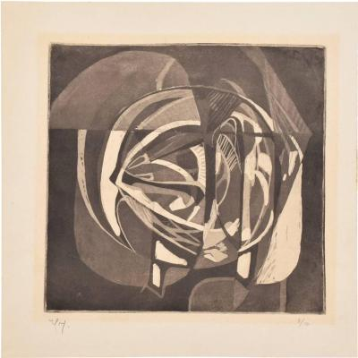 Rodolfo Nieto Rodolfo Nieto Lithograph Signed in Pencil Edition 7 10