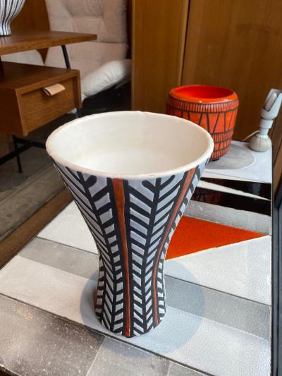 Roger Capron Ceramic vase France 1950s