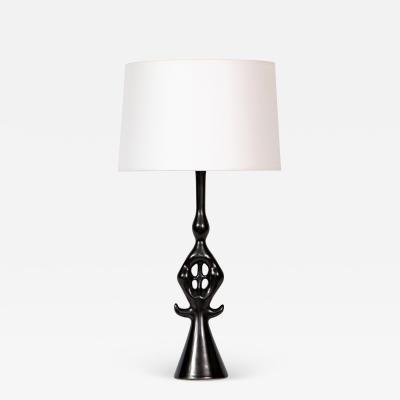 Roger Capron Lampe Noire