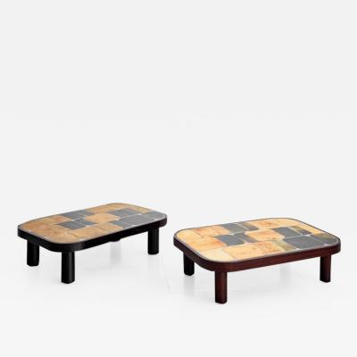 Roger Capron ROGER CAPRON SHO GUN COFFEE TABLES