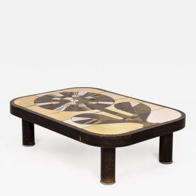 Roger Capron Roger Capron Coffee Table circa 1960 France