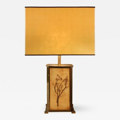 Roger Capron Roger Capron Garrigue Tile Table Lamp 1960s