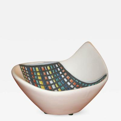 Roger Capron Small Free Form Bowl by Roger Capron
