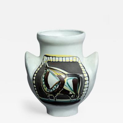 Roger Capron Vase a Oreilles Tareau