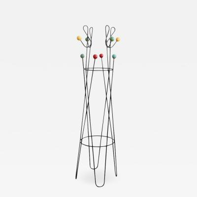 Roger Feraud Multicolored Coat Rack Stand by Roger Feraud