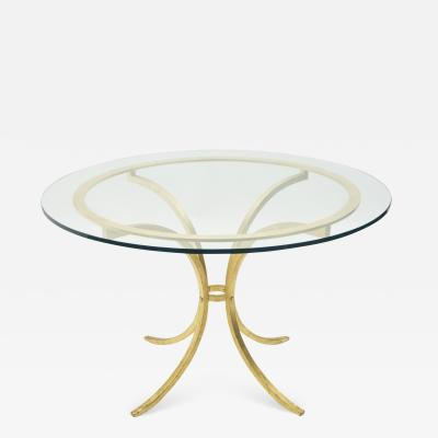 Roger Thibier French Mid century Roger Thibier dining table 1960s