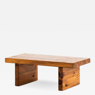 Roland Wilhelmsson Coffee Table Bench Model Bamse Produced by Karl Andersson S ner AB