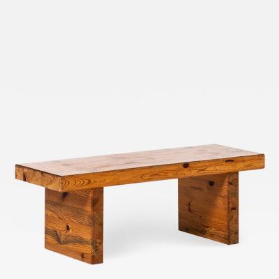 Roland Wilhelmsson Roland Wilhelmsson Coffee Table Bench Model Bamse