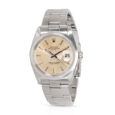 Rolex Date 1500 Men s Watch in Stainless Steel