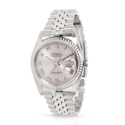 Rolex Datejust 16220 Men s Watch in Stainless Steel
