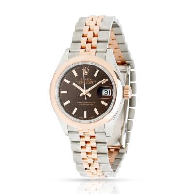 Rolex Datejust 279161 Women s Watch in 18kt Stainless Steel Rose Gold