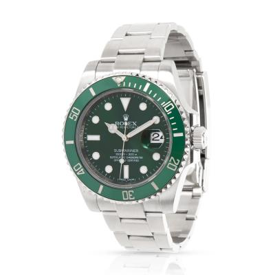 Rolex Submariner 116610LV Hulk Men s Watch in Stainless Steel