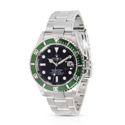Rolex Submariner 16610V Kermit Men s Watch in Stainless Steel