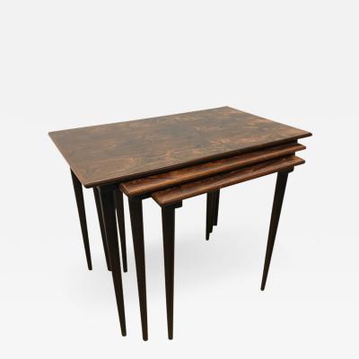 Rolf Hesland Rolf Hesland rosewood nesting tables