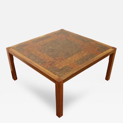 Rolf Middelboe Mid Century Modern Rolf Middelboe Gorm Lindum for Tranekaer Coffee Table Danish