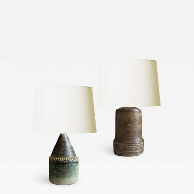 Rolf Palm Whimsical Duo of Petite Lamps by Rolf Palm