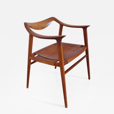Rolf Rastad Radstad and Relling Bambi Armchair by Gustav Bahus Norway 1954