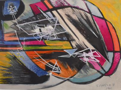 Rolph Scarlett Abstraction