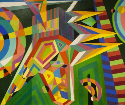 Rolph Scarlett Geometric Abstraction