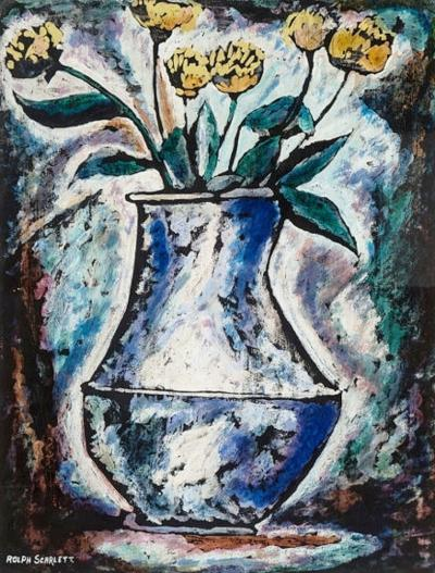 Rolph Scarlett The Blue Vase