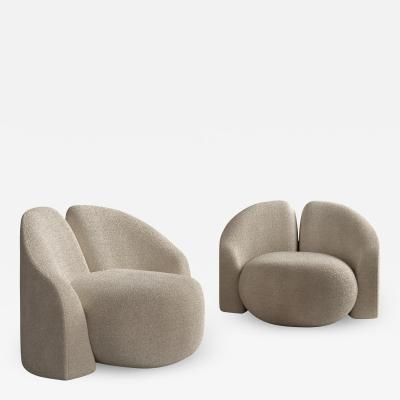 Roman Plyus Hoof armchair