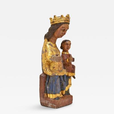 Romanesque Madonna and Child