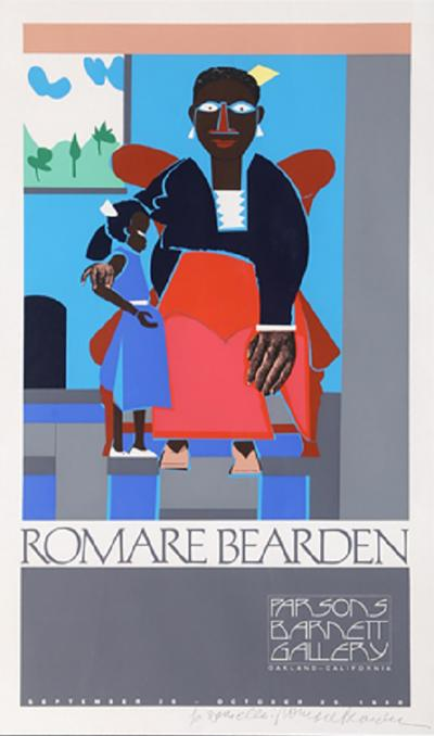Romare H Bearden Mother and Child Exhibition at Parsons Barnett Gallery
