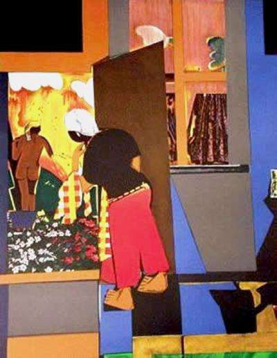 Romare H Bearden Open Door
