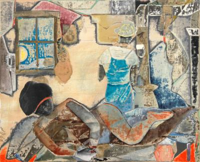 Romare H Bearden Sunrise Coffee
