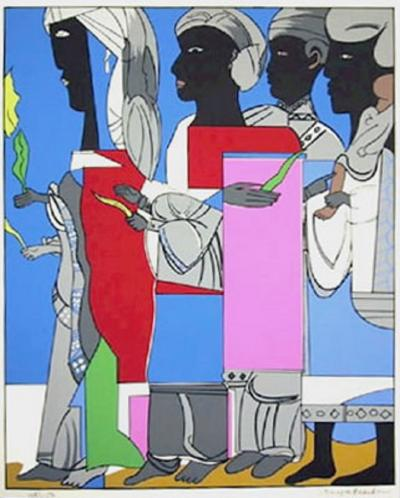 Romare H Bearden The Processional