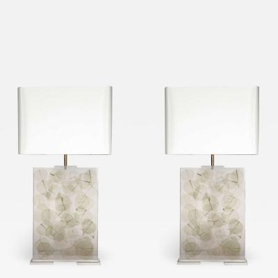 Romeo Paris Pair of lamps by Romeo Paris