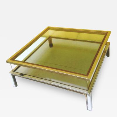 Romeo Rega 1970s Coffee Table with Sliding Top