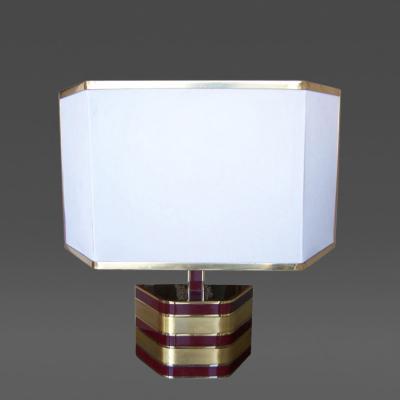 Romeo Rega Beautiful Table Lamp Attributed to Romeo Rega