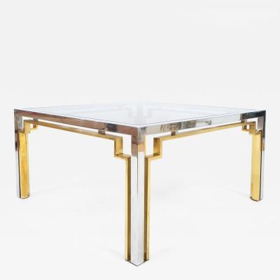 Romeo Rega Exquisite Double Frame Coffee Table Attributed To Romeo Rega