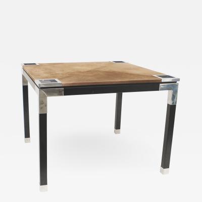 Romeo Rega Italian Contemporary Post War Design 1970s Game Table