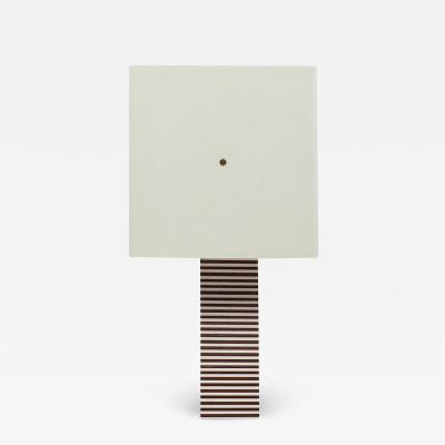 Romeo Rega Italian Geometric Layered Acrylic Table Lamp 1970s