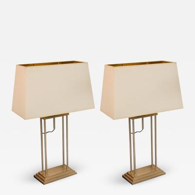 Romeo Rega Pair Of Table Lamps Attributed to Romeo Rega