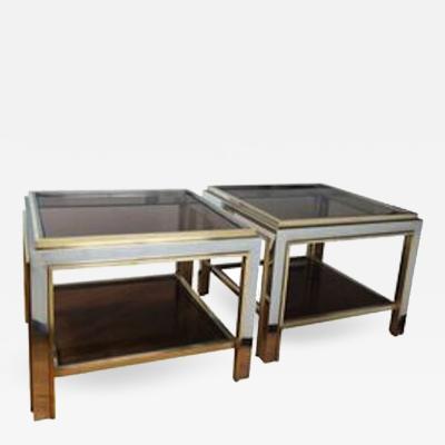 Romeo Rega Pair of Romeo Rega Low Tables